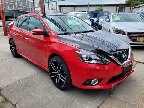 2017 Nissan Sentra for sale at LIBERTY AUTOLAND INC in Jamaica NY