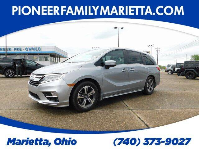 2018 Honda Odyssey for sale at Pioneer Family preowned autos in Williamstown WV