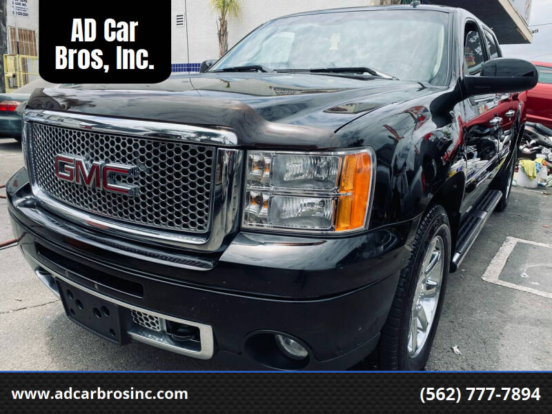 2011 GMC Sierra 1500 for sale at AD Car Bros, Inc. in Whittier CA