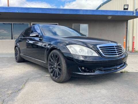 2007 Mercedes-Benz S-Class for sale at AUTO NATIX in Tulare CA