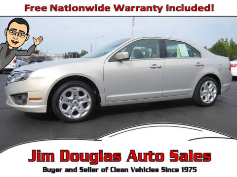 2010 Ford Fusion for sale at Jim Douglas Auto Sales in Pontiac MI