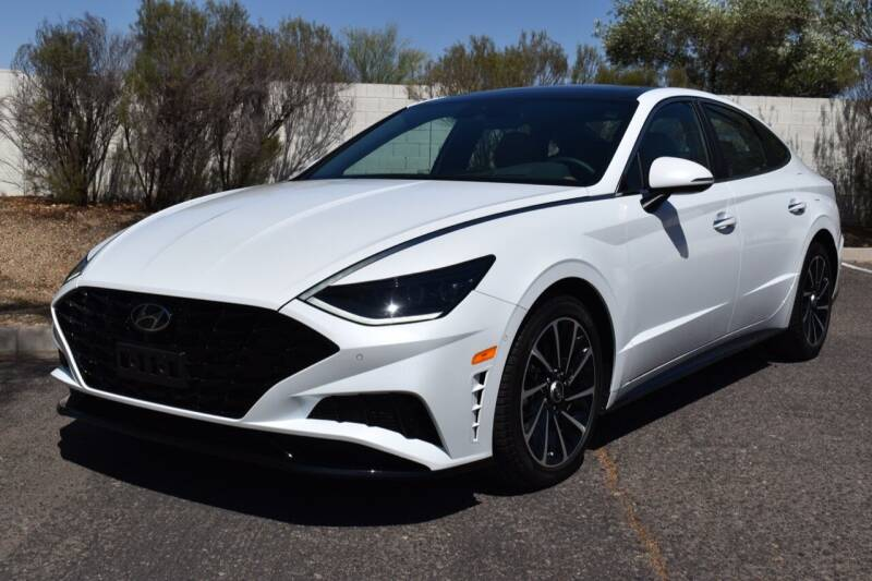 2021 Hyundai Sonata for sale at AMERICAN LEASING & SALES in Tempe AZ