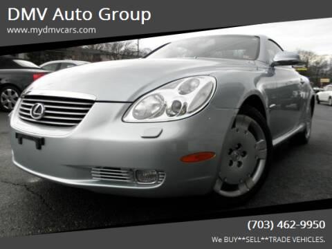 2004 Lexus SC 430 for sale at DMV Auto Group in Falls Church VA