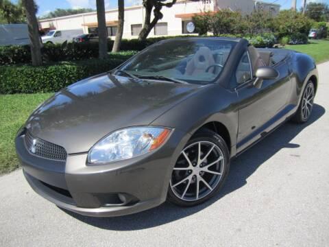 2011 Mitsubishi Eclipse Spyder for sale at FLORIDACARSTOGO in West Palm Beach FL