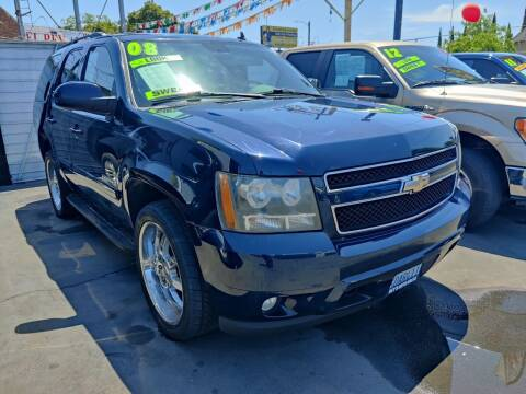 2008 Chevrolet Tahoe for sale at Rey's Auto Sales in Stockton CA