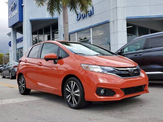 2020 Honda Fit for sale at DORAL HYUNDAI in Doral FL