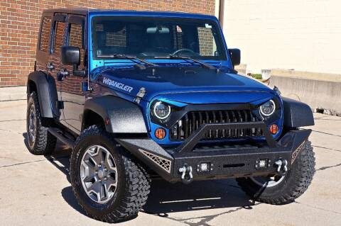2010 Jeep Wrangler Unlimited for sale at Effect Auto Center in Omaha NE
