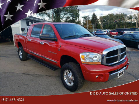 2006 Dodge Ram Pickup 2500 for sale at D & D Auto Sales Of Onsted in Onsted MI