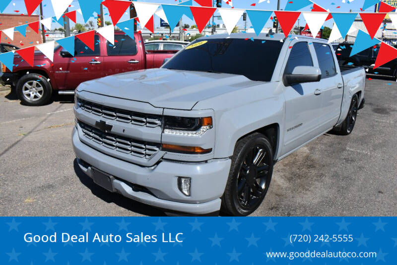 2016 Chevrolet Silverado 1500 for sale at Good Deal Auto Sales LLC in Denver CO