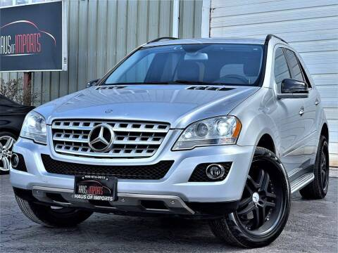 2011 Mercedes-Benz M-Class for sale at Haus of Imports in Lemont IL