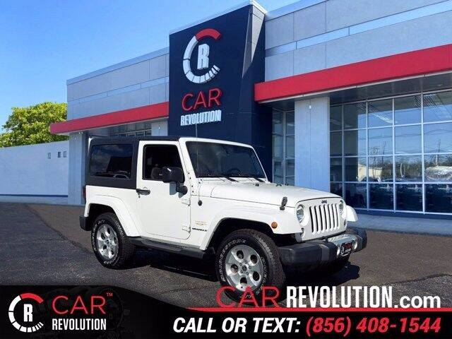 2014 Jeep Wrangler for sale at Car Revolution in Maple Shade NJ
