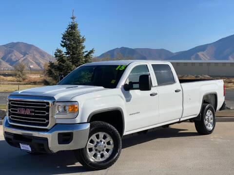 2015 GMC Sierra 3500HD for sale at Evolution Auto Sales LLC in Springville UT