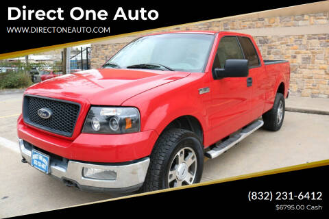 2004 Ford F-150 for sale at Direct One Auto in Houston TX