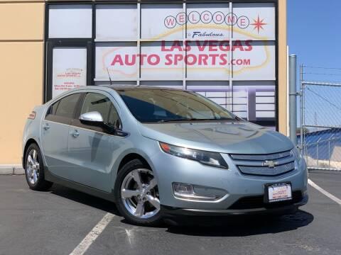 2012 Chevrolet Volt for sale at Las Vegas Auto Sports in Las Vegas NV
