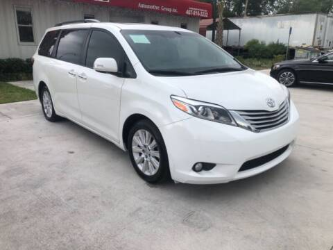 2015 Toyota Sienna for sale at Empire Automotive Group Inc. in Orlando FL
