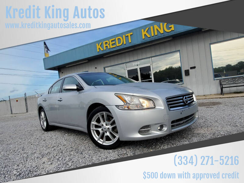 2014 Nissan Maxima for sale at Kredit King Autos in Montgomery AL