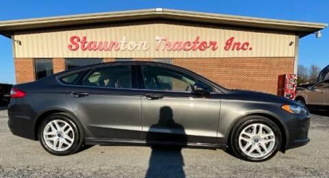 2016 Ford Fusion for sale at STAUNTON TRACTOR INC in Staunton VA