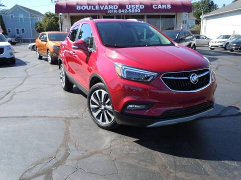 2017 Buick Encore for sale at Boulevard Used Cars in Grand Haven MI