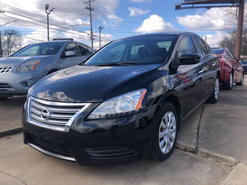 2014 Nissan Sentra for sale at Wolff Auto Sales in Clarksville TN