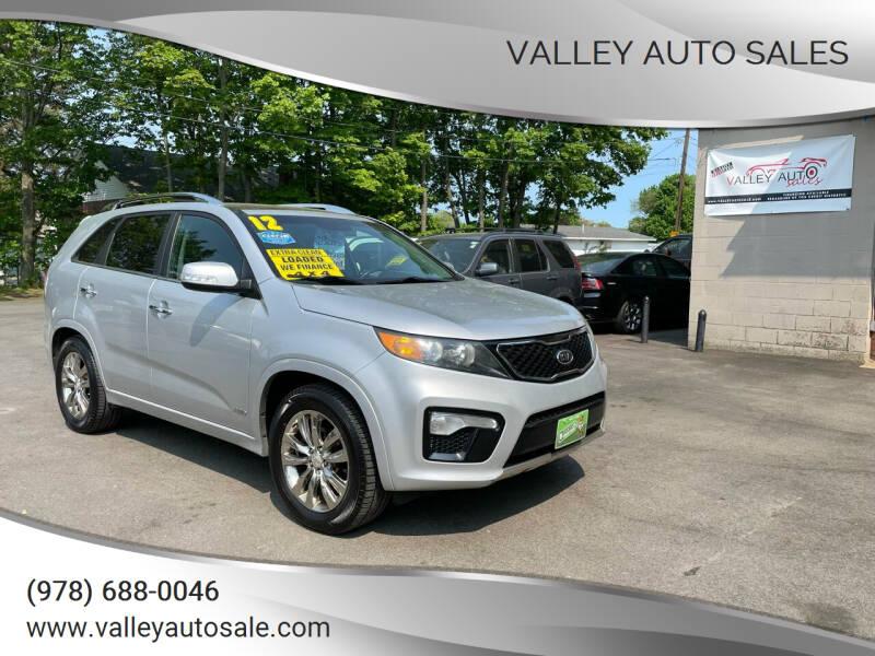 2012 Kia Sorento for sale at VALLEY AUTO SALES in Methuen MA