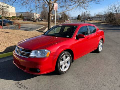 2013 Dodge Avenger for sale at Dreams Auto Group LLC in Sterling VA