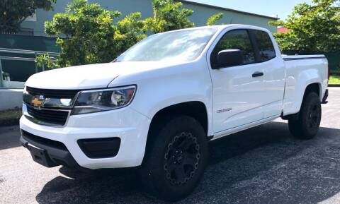 2015 Chevrolet Colorado for sale at Meru Motors in Hollywood FL