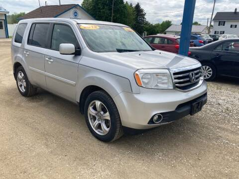 2012 Honda Pilot for sale at Corry Pre Owned Auto Sales in Corry PA
