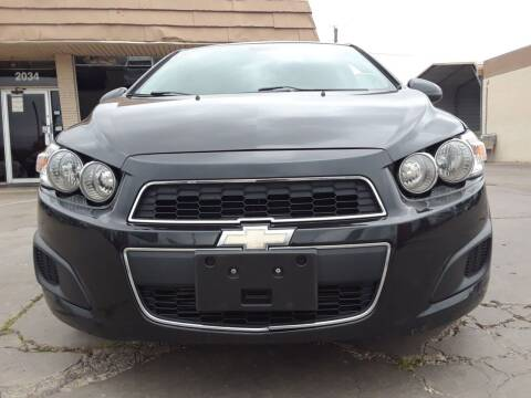 2013 Chevrolet Sonic for sale at Auto Haus Imports in Grand Prairie TX