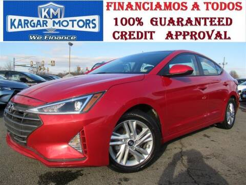 2020 Hyundai Elantra for sale at Kargar Motors of Manassas in Manassas VA