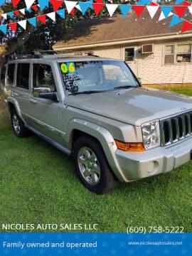 2006 Jeep Commander for sale at NICOLES AUTO SALES LLC in Cream Ridge NJ
