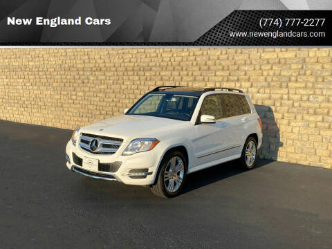 2014 Mercedes-Benz GLK for sale at New England Cars in Attleboro MA