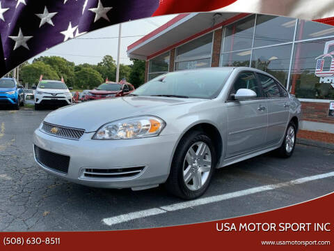 2013 Chevrolet Impala for sale at USA Motor Sport inc in Marlborough MA