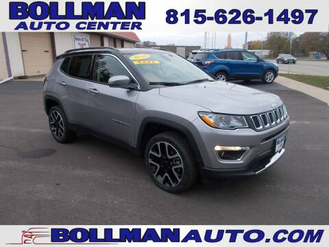2018 Jeep Compass for sale at Bollman Auto Center in Rock Falls IL