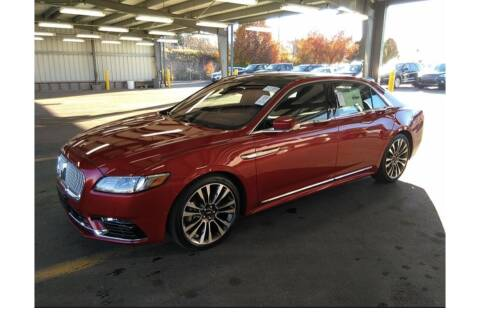 2017 Lincoln Continental for sale at THATCHER AUTO SALES in Export PA