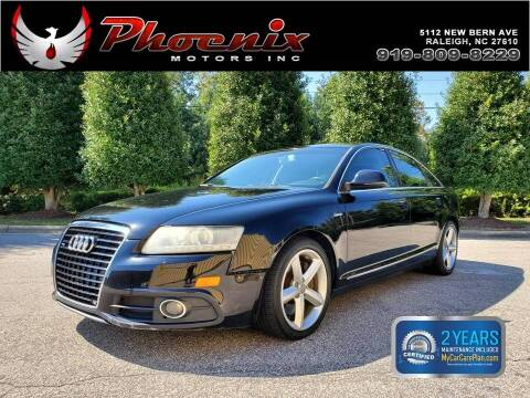 2011 Audi A6 for sale at Phoenix Motors Inc in Raleigh NC