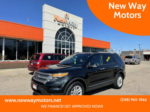 2014 Ford Explorer for sale at New Way Motors in Ferndale MI