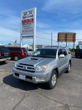 2005 Toyota 4Runner for sale at US 24 Auto Group in Redford MI
