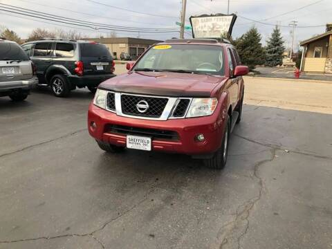 2008 Nissan Pathfinder for sale at SHEFFIELD MOTORS INC in Kenosha WI