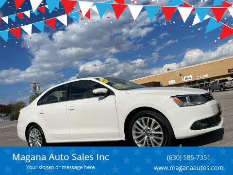 2012 Volkswagen Jetta for sale at Magana Auto Sales Inc in Aurora IL