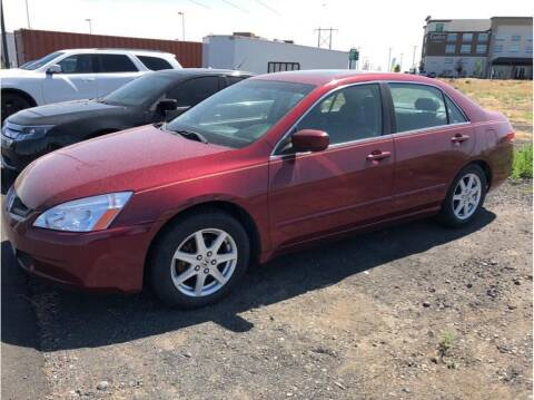 2003 Honda Accord for sale at Moses Lake Family Auto Center in Moses Lake WA