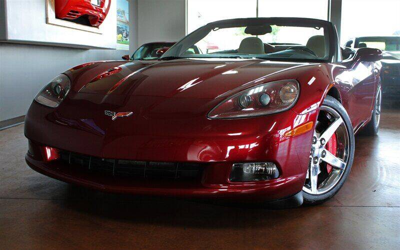 2006 Chevrolet Corvette for sale at Motion Auto Sport in North Canton OH