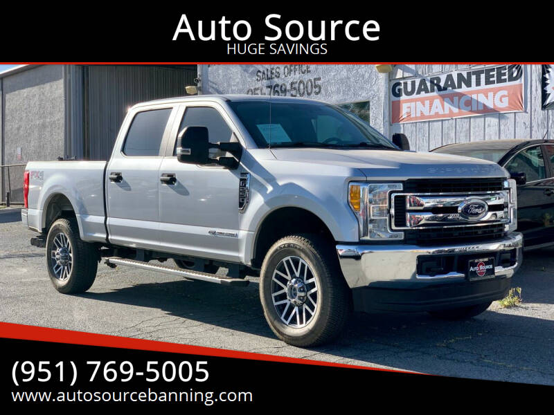 2017 Ford F-250 Super Duty for sale at Auto Source in Banning CA