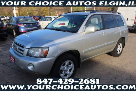 2006 Toyota Highlander for sale at Your Choice Autos - Elgin in Elgin IL