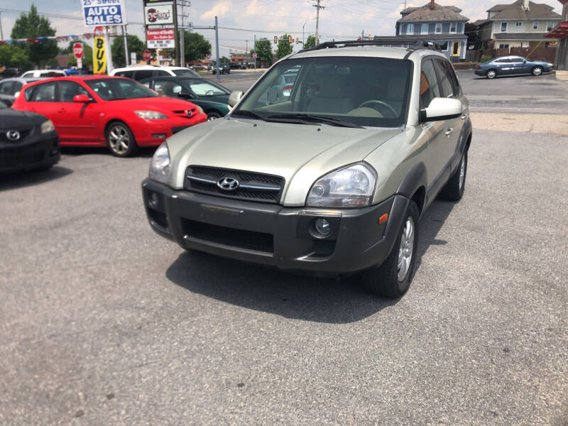 2008 Hyundai Tucson for sale at 25TH STREET AUTO SALES in Easton PA