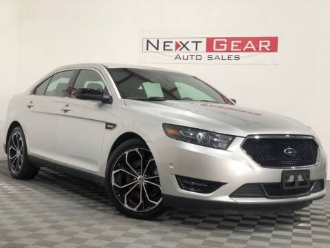 2013 Ford Taurus for sale at Next Gear Auto Sales in Westfield IN