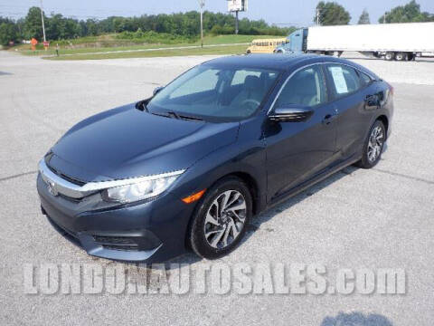 2017 Honda Civic for sale at London Auto Sales LLC in London KY