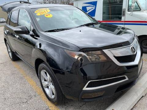 2011 Acura MDX for sale at Jose's Auto Sales Inc in Gurnee IL