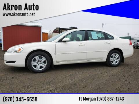 2007 Chevrolet Impala for sale at Akron Auto in Akron CO