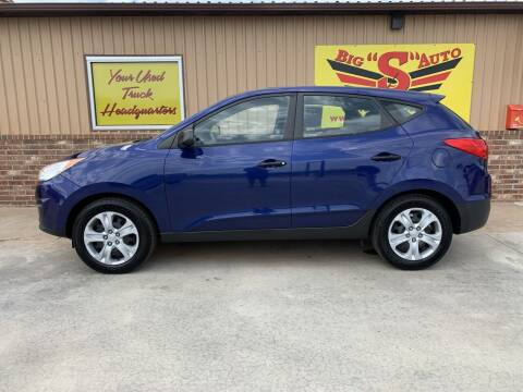 2011 Hyundai Tucson for sale at BIG 'S' AUTO & TRACTOR SALES in Blanchard OK