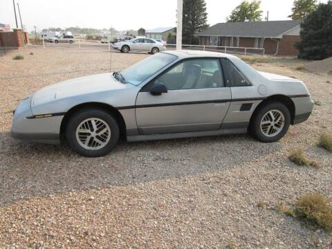1985 Pontiac Fiero for sale at STEVES ROLLIN STONE AUTO SALES in Eaton CO